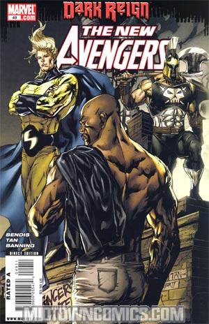 New Avengers #49 Cover A 1st Ptg (Dark Reign Tie-In)