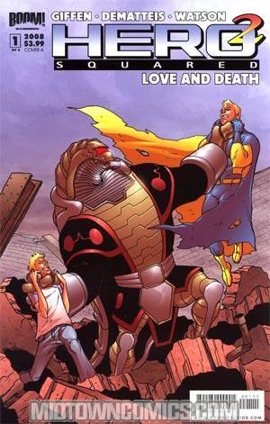 Hero Squared Love & Death #1 Cvr A