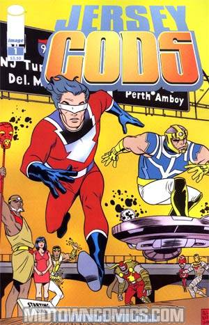 Jersey Gods #1 1st Ptg Regular Mike Allred Cover