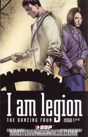 I Am Legion #1 Incentive John Cassaday Variant Cover