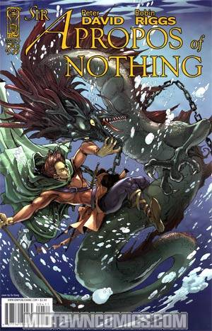 Sir Apropos Of Nothing #4 Cover B Da Xiong Cover