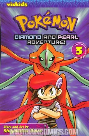 Pokemon Diamond And Pearl Adventure Vol 3 GN