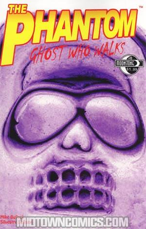 Phantom Ghost Who Walks Vol 2 #0 Cover B Incentive Inverse Variant Cover