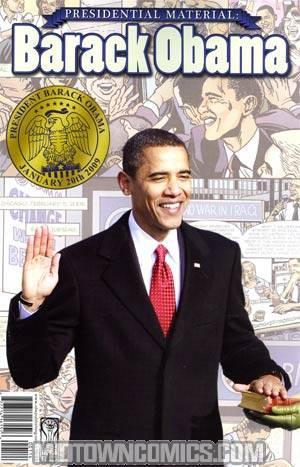Presidential Material Barack Obama Current Ptg Photo Cover