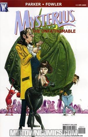 Mysterius The Unfathomable #2