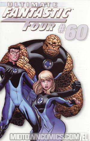 Ultimate Fantastic Four #60 Incentive Ed McGuinness White Variant Cover (Ultimatum Tie-In)