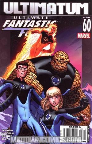 Ultimate Fantastic Four #60 Regular Ed McGuinness Cover (Ultimatum Tie-In)