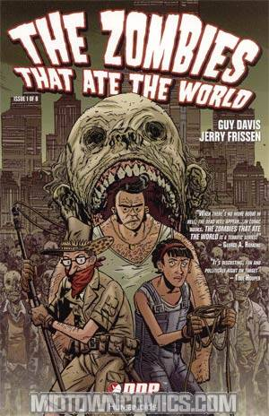 Zombies That Ate The World #1 Cvr A Guy Davis