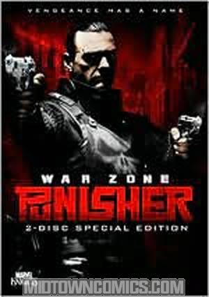 Punisher War Zone Special Edition DVD