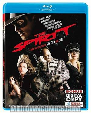 Spirit Blu-ray DVD
