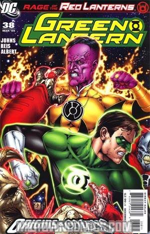 Green Lantern Vol 4 #38 Cover A 1st Ptg (Blackest Night Prelude)(Origins & Omens Tie-In)