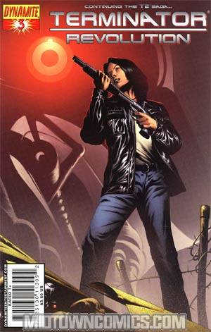 Terminator Revolution #3 Cover A Richard Isanove Cover