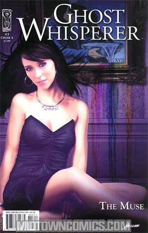 Ghost Whisperer The Muse #3 Brian Miller Cover