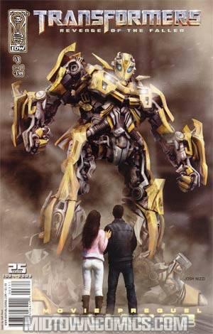 Transformers Revenge Of The Fallen Movie Prequel Alliance #3 Josh Nizzi Cover
