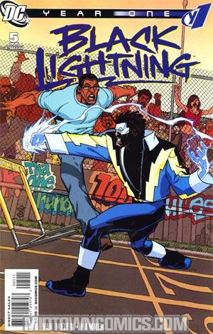 Black Lightning Year One #5