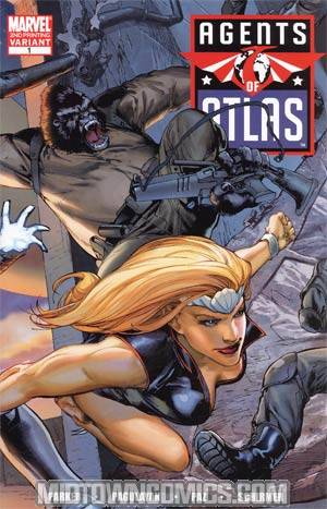 Agents Of Atlas Vol 2 #1 Cover D 2nd Ptg Carlo Pagulayan Variant Cover(Dark Reign Tie-In)