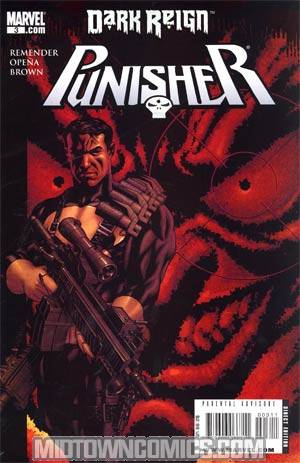 Punisher Vol 7 #3 Cover A Target Green Goblin Cover (Dark Reign Tie-In)