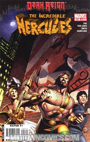 Incredible Hercules #127 (Dark Reign Tie-In)