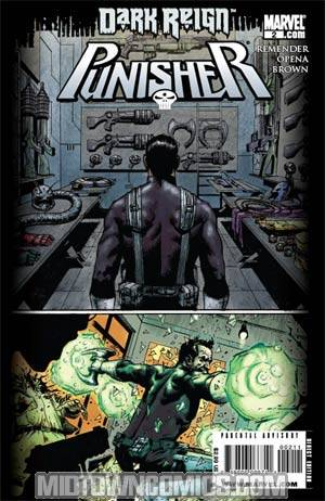 Punisher Vol 7 #2 Cover C 2nd Ptg Jerome Opena Variant Cover (Dark Reign Tie-In)
