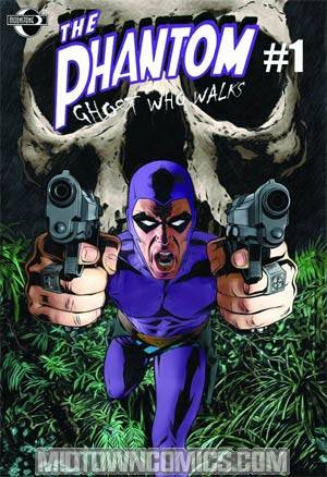 Phantom Ghost Who Walks Vol 2 #1 Joe Corroney Cover