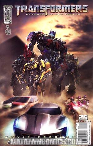Transformers Revenge Of The Fallen Movie Prequel Alliance #4 Josh Nizzi Cover