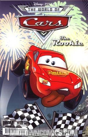 Disney Pixars World Of Cars The Rookie #1 Cover B 1st Ptg Regular
