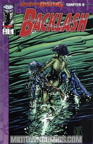Backlash #8 Cover A Direct Edition With Cards