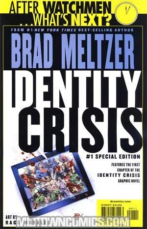 Identity Crisis #1 Cover E Special Edition