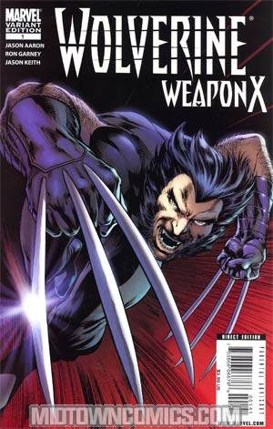 Wolverine Weapon X #1 Cover D Incentive Alan Davis Variant Cover