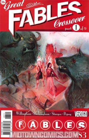 Fables #83 (Great Fables Crossover Part 1)