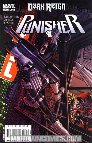 Punisher Vol 7 #4 Cover A Target The Hood Cover (Dark Reign Tie-In)