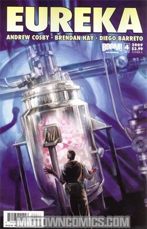 Eureka #4 Regular Cover A