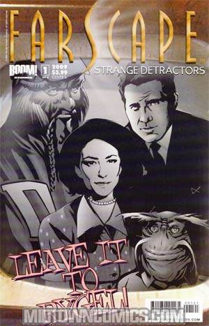 Farscape Strange Detractors #1 Regular Cover B