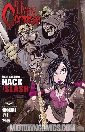 Living Corpse Hack Slash Annual #1 Regular Ken Haeser Cover