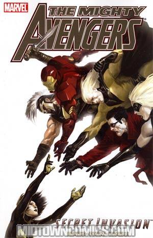 Mighty Avengers Vol 4 Secret Invasion Book 2 TP Book Market Mighty Avengers Vol 4 Spine