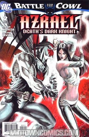 Azrael Deaths Dark Knight #2 (Batman Battle For The Cowl Tie-In)