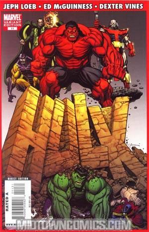Hulk Vol 2 #11 Incentive Art Adams Variant Cover