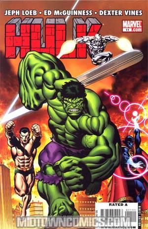 Hulk Vol 2 #11 Regular Defenders Cover