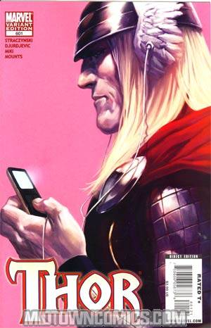 Thor Vol 3 #601 Cover B Incentive Marko Djurdjevic Variant Cover