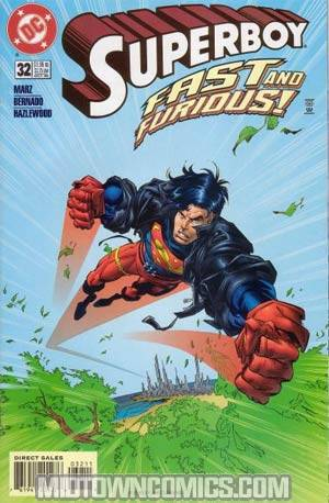 Superboy Vol 3 #32 Without Polybag