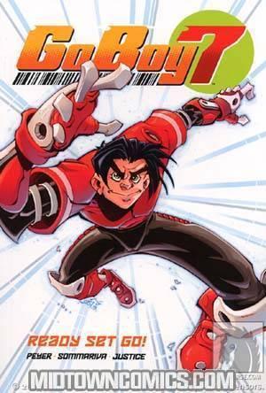 Go Boy 7 Complete Mini-Series 4-Issue Set