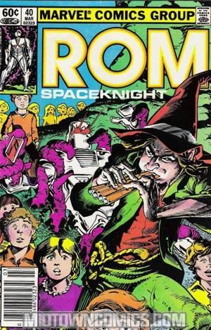 Rom #40 Without Tattooz