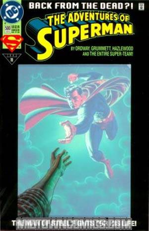 Adventures Of Superman #500 Cover C Collectors Edition Cover Without Polybag