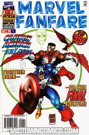 Marvel Fanfare Vol 2 #1