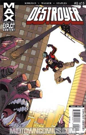 Destroyer (Marvel MAX) #2