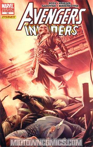 Avengers Invaders #10 Incentive Mitch Breitweiser Variant Cover
