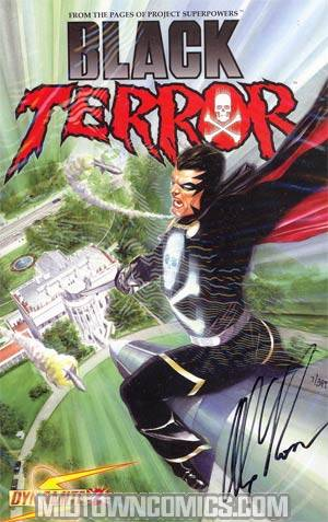 Black Terror Vol 3 #2 Signed By Alex Ross