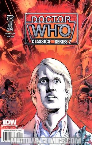 Doctor Who Classics Series 2 #6 Cover A Regular Dave Gibbons Cover