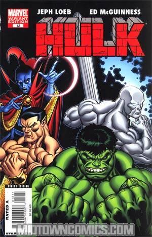 Hulk Vol 2 #12 Regular Defenders Cover