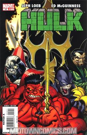 Hulk Vol 2 #12 Regular Offenders Cover